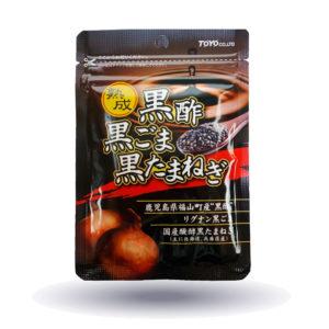 熟成黒酢・黒ごま・黒たまねぎ